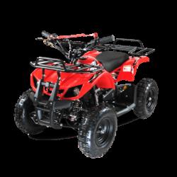 Квадроцикл детский бензиновый MOTAX ATV Х-16 Мини-Гризли красный (механический стартер, задний привод, до 45 км/ч)